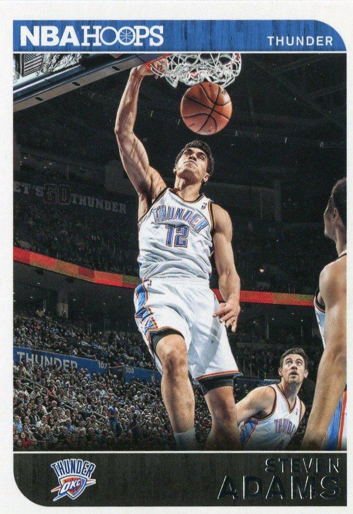 2014 Hoops Basketball Card #222 Steven Adams
