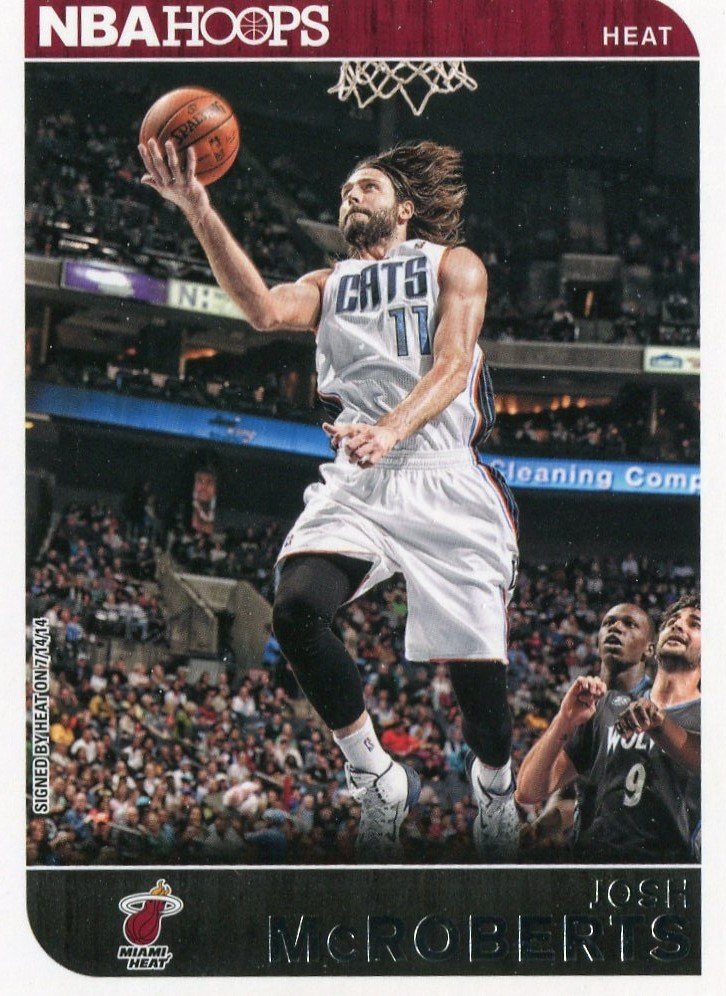 2014 Hoops Basketball Card #223 Josh McRoberts