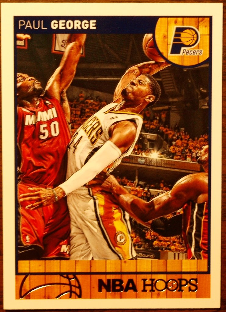 2013 Hoops Basketball Card #59 Paul George