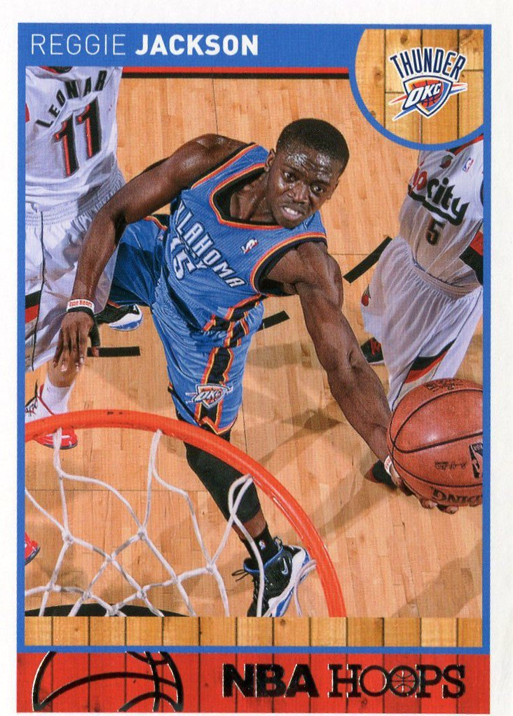 2013 Hoops Basketball Card #63 Reggie Jackson