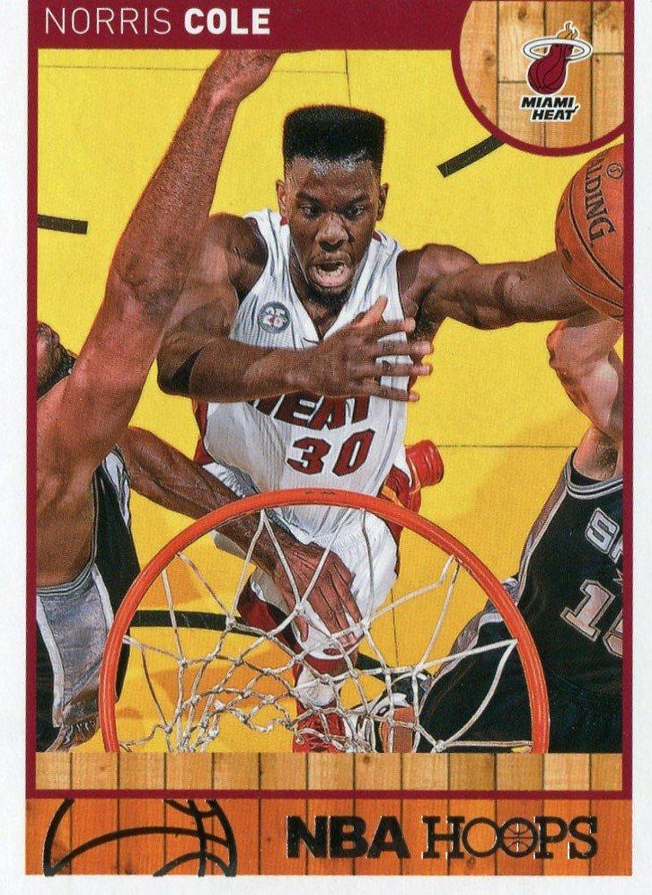 2013 Hoops Basketball Card #77 Norris Cole