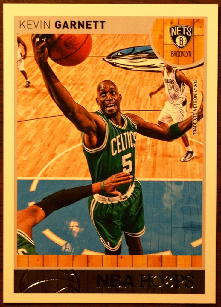 2013 Hoops Basketball Card #65 Kevin Garnett