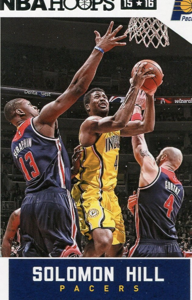 2015 Hoops Basketball Card #218 Solomon Hill
