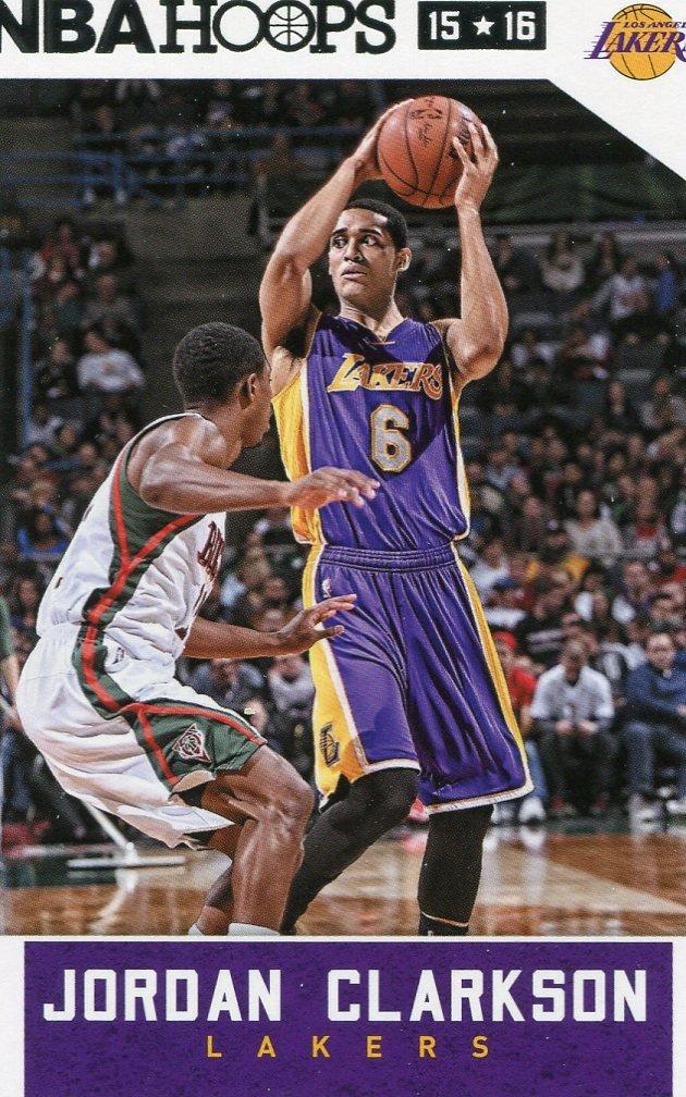 2015 Hoops Basketball Card #223 Jordon Crawford