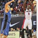 2015 Hoops Basketball Card #225 Bismack Biyombo