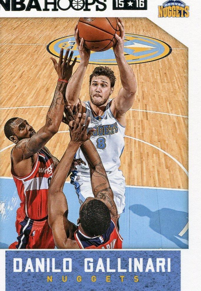 2015 Hoops Basketball Card #237 Danilo Gallinari