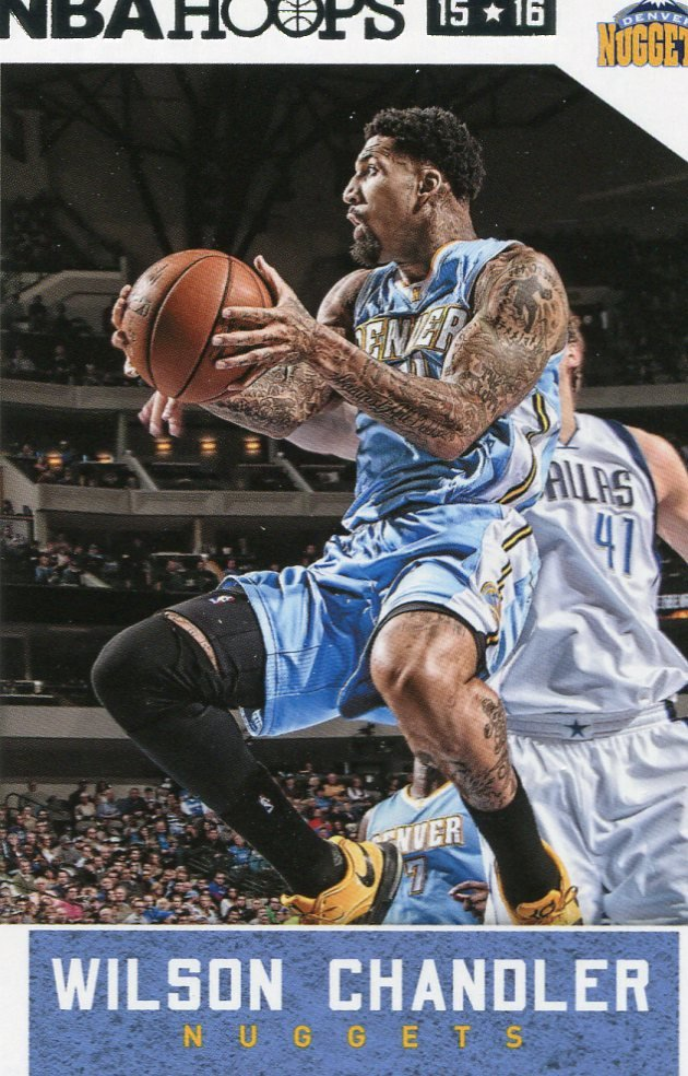 2015 Hoops Basketball Card #240 Wilson Chandler