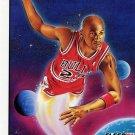 1991 Fleer Basketball Card Pro Vision #2 Michael Jordan