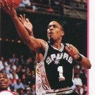 1991 Hoops Basketball Card #196 Rod Strickland