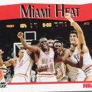 1991 Hoops Basketball Card #287 Miami Heat