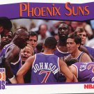 1991 Hoops Basketball Card #294 Phoenix Suns