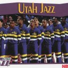 1991 Hoops Basketball Card #299 Utah Jazz