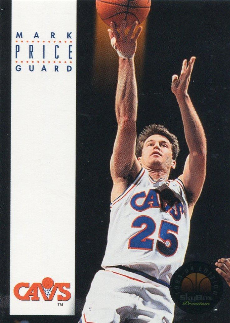 1993 Skybox Basketball Card #52 Mark Price