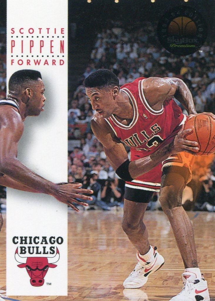1993 Skybox Basketball Card #47 Scottie Pippen