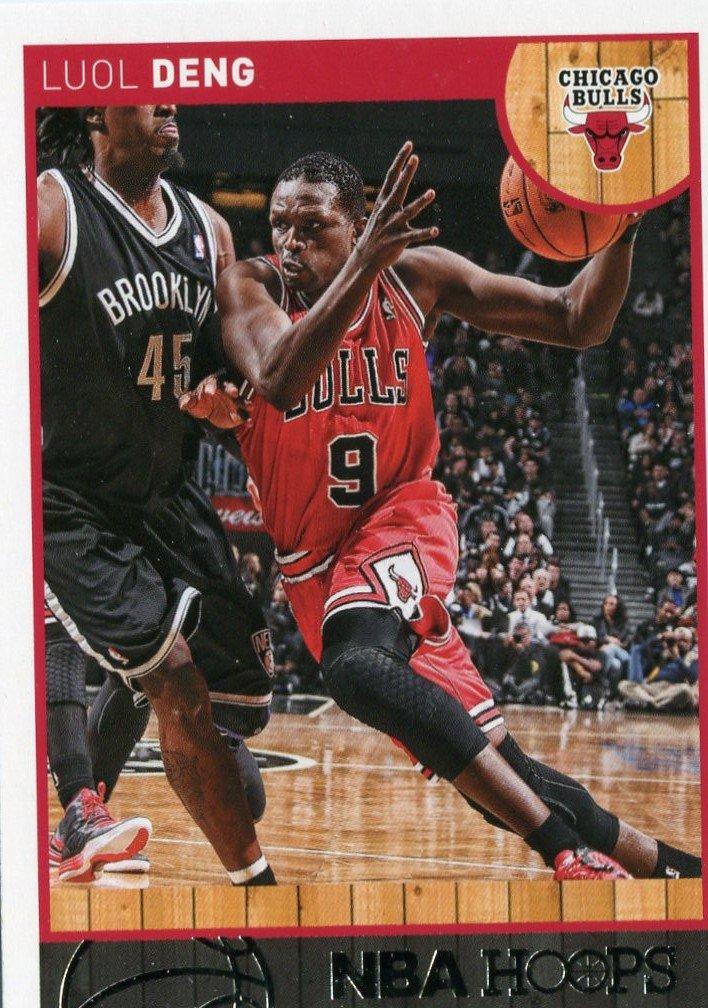 2013 Hoops Basketball Card #91 Luol Deng