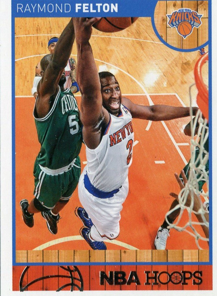 2013 Hoops Basketball Card #98 Raymond Felton