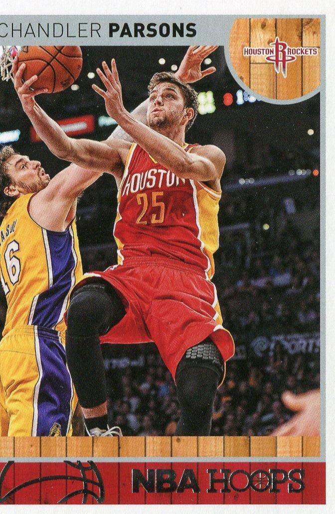 2013 Hoops Basketball Card #99 Chandler Parsons