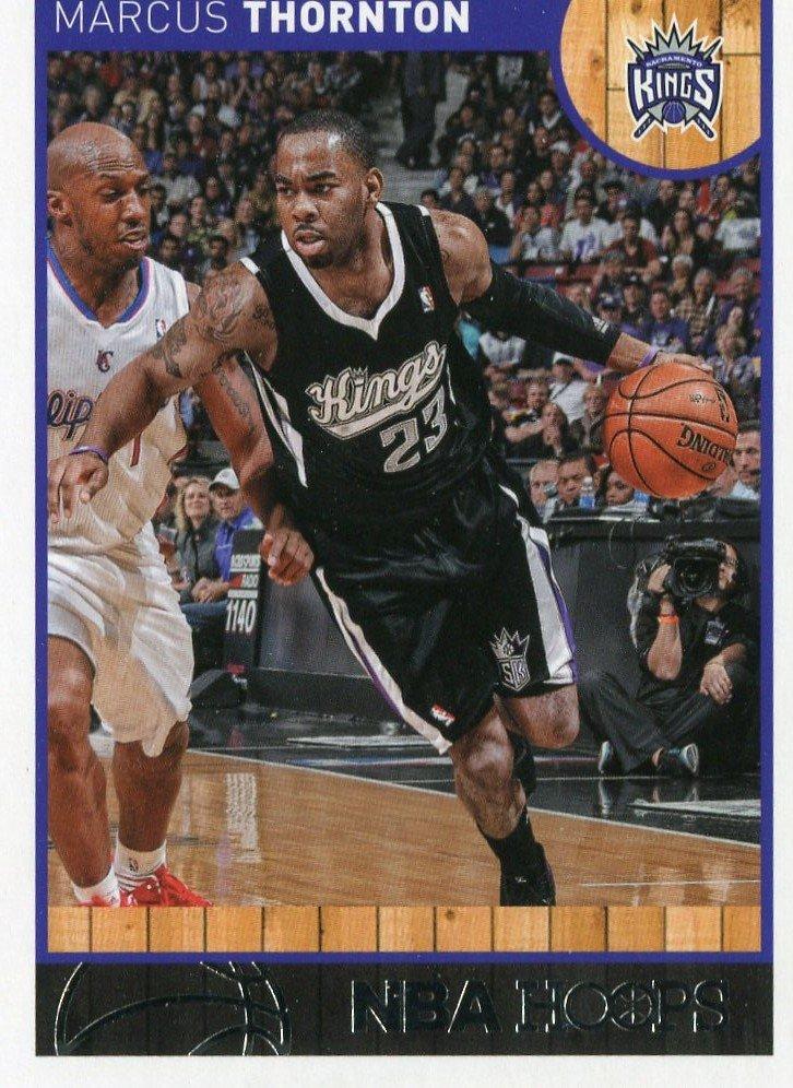 2013 Hoops Basketball Card #100 Marcus Thornton