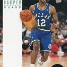 1993 Skybox Basketball Card #56 Derek Harper