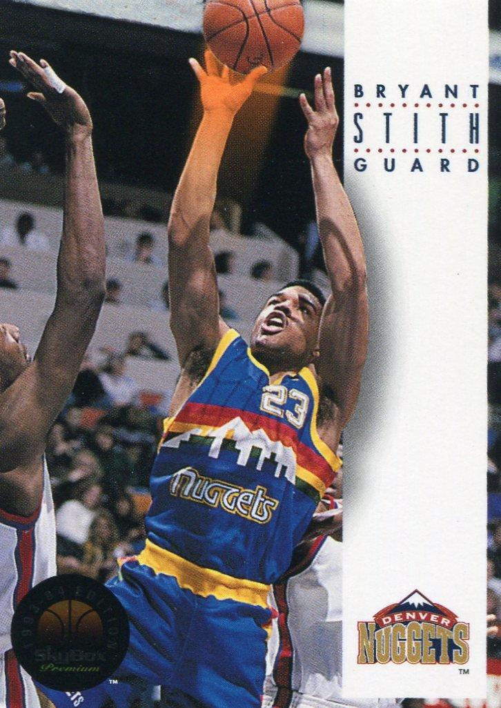 1993 Skybox Basketball Card #64 Bryant Stith