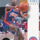 1993 Skybox Basketball Card #71 Isiah Thomas