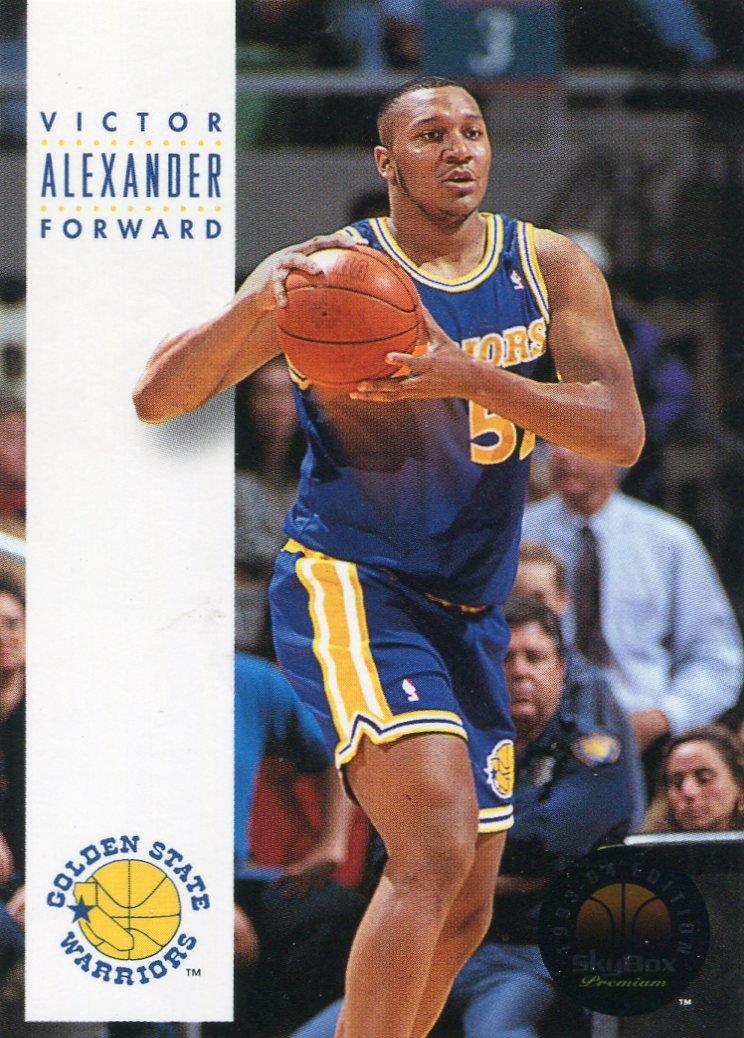 1993 Skybox Basketball Card #72 Victor Alexander