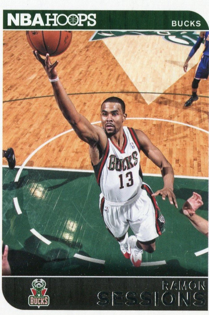 2014 Hoops Basketball Card #233 Ramon Sessions