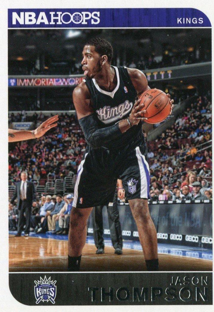 2014 Hoops Basketball Card #236 Jason Thompson