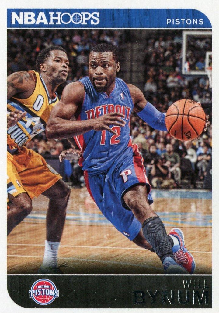 2014 Hoops Basketball Card #247 Will Bynum