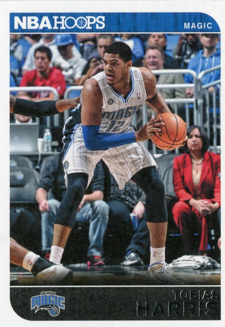 2014 Hoops Basketball Card #252 Tobias Harris