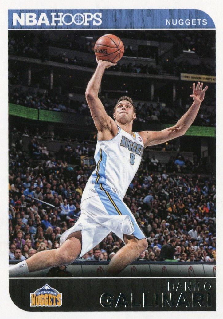 2014 Hoops Basketball Card #255 Danilo Gallinari