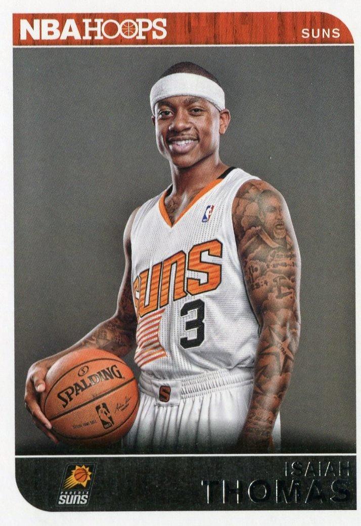 2014 Hoops Basketball Card #256 Isaiah Thomas