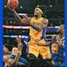 2014 Hoops Basketball Card Blue Parallel #135 Jordan Hill