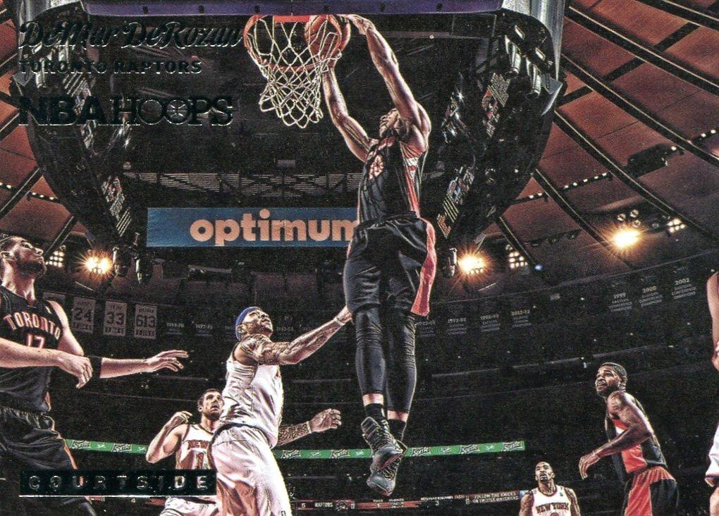 2014 Hoops Basketball Card Courtside #18 DeMar DeRozan