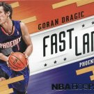 2014 Hoops Basketball Card Fast Lane #17 Goran Dragic