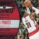 2014 Hoops Basketball Card Moments of Greatness #9 Terrance Ross