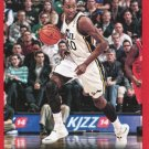 2014 Hoops Basketball Card Red Parallel #100 Jeremy Evans