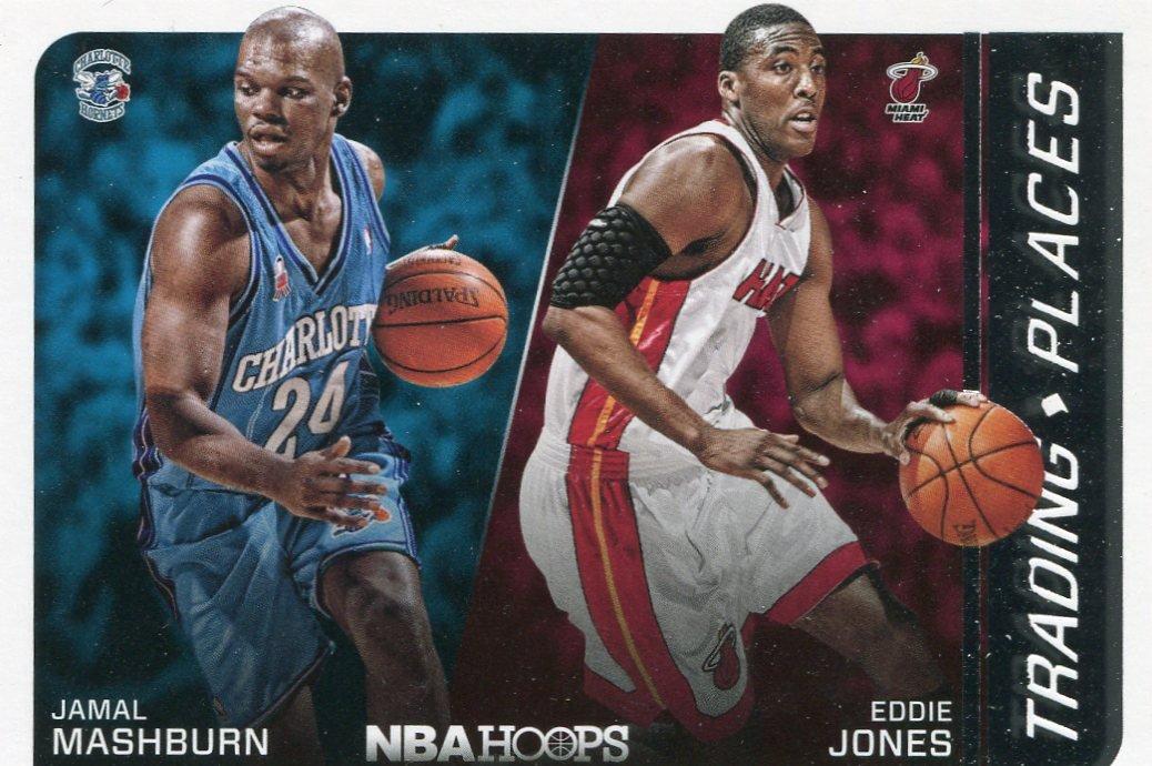 2014 Hoops Basketball Card Trading Places #2 Jamal Mashburn / Eddie Jones