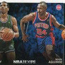 2014 Hoops Basketball Card Trading Places #7 Adrian Dantley / Mark Aguirre