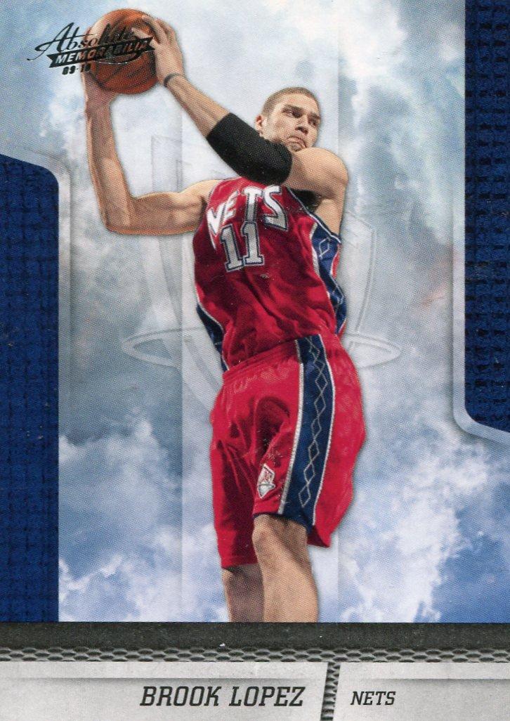 2009 Absolute Basketball Card #13 Brook Lopez