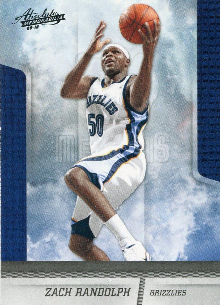 2009 Absolute Basketball Card #37 Zach Randolph