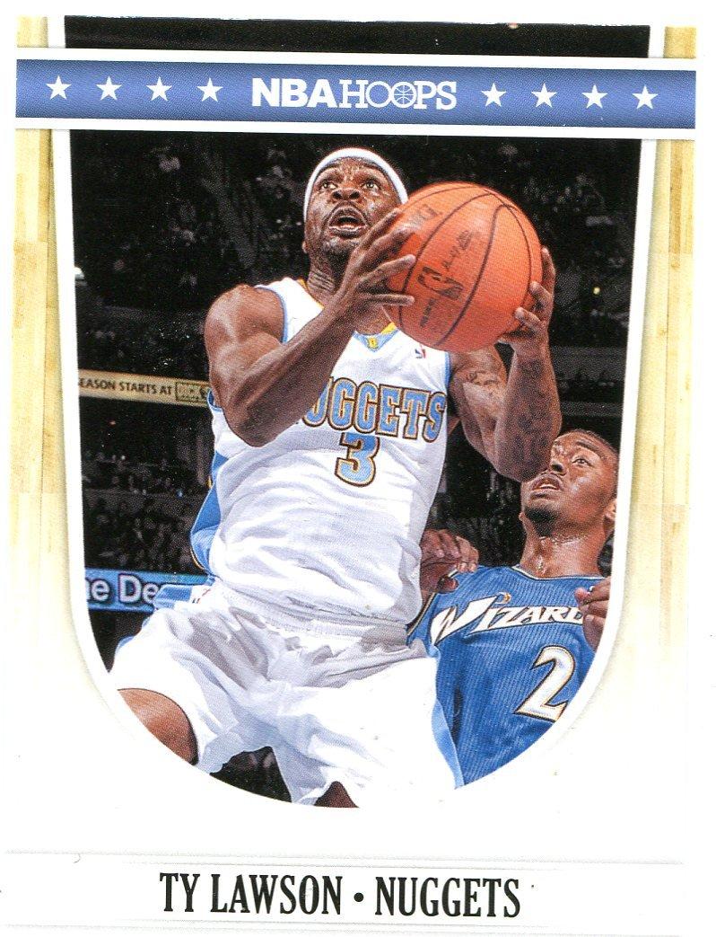 2011 Hoops Basketball Card #50 Ty Lawson