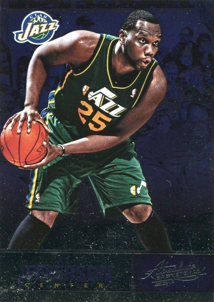 2012 Absolute Basketball Card #69 Al Jefferson