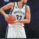 2012 Absolute Basketball Card #87 Marc Gasol