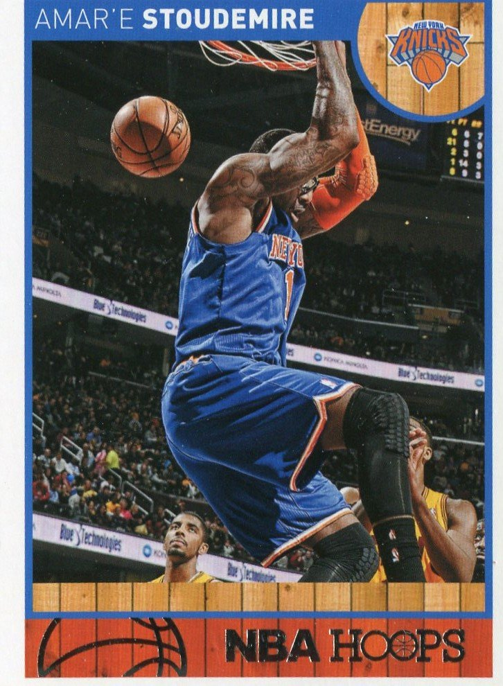 2013 Hoops Basketball Card #123 Amare Stoudemire