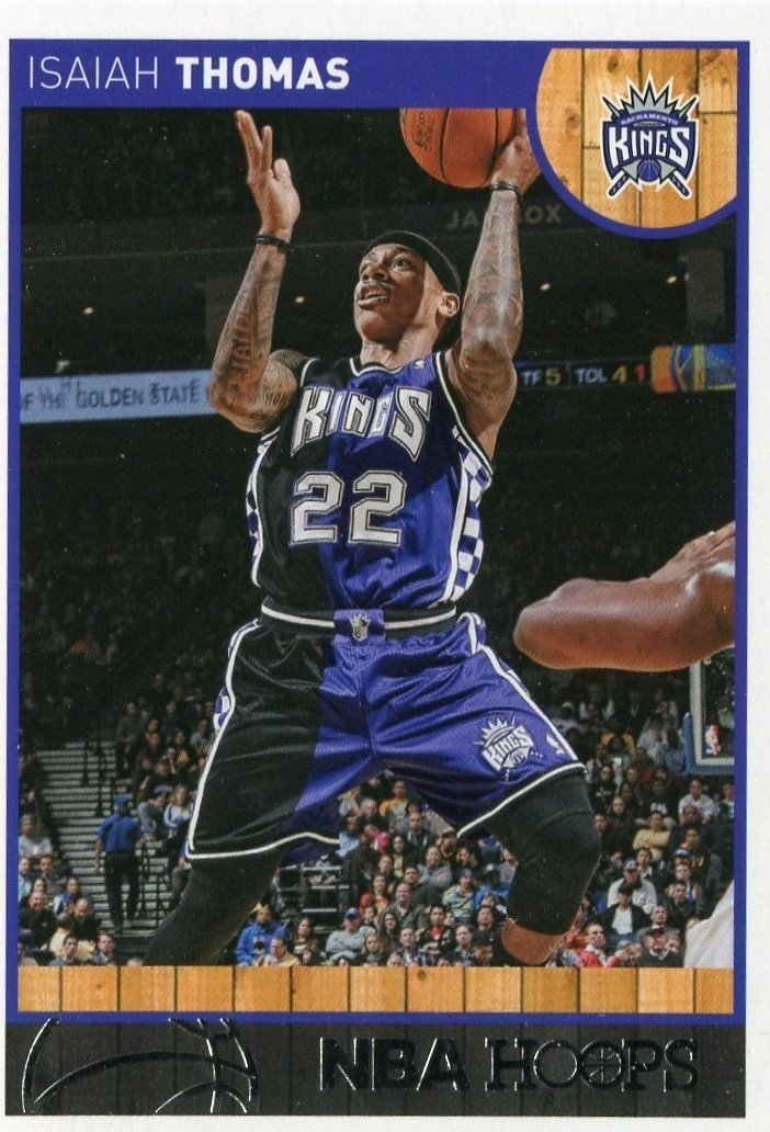 2013 Hoops Basketball Card #130 Isiah Thompson