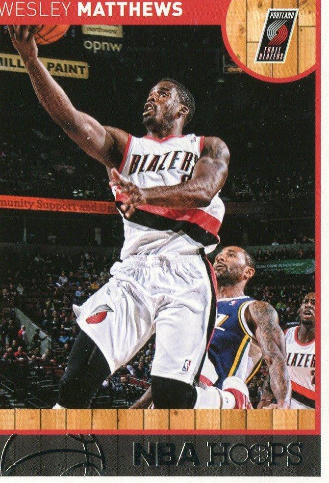2013 Hoops Basketball Card #146 Wesley Matthews