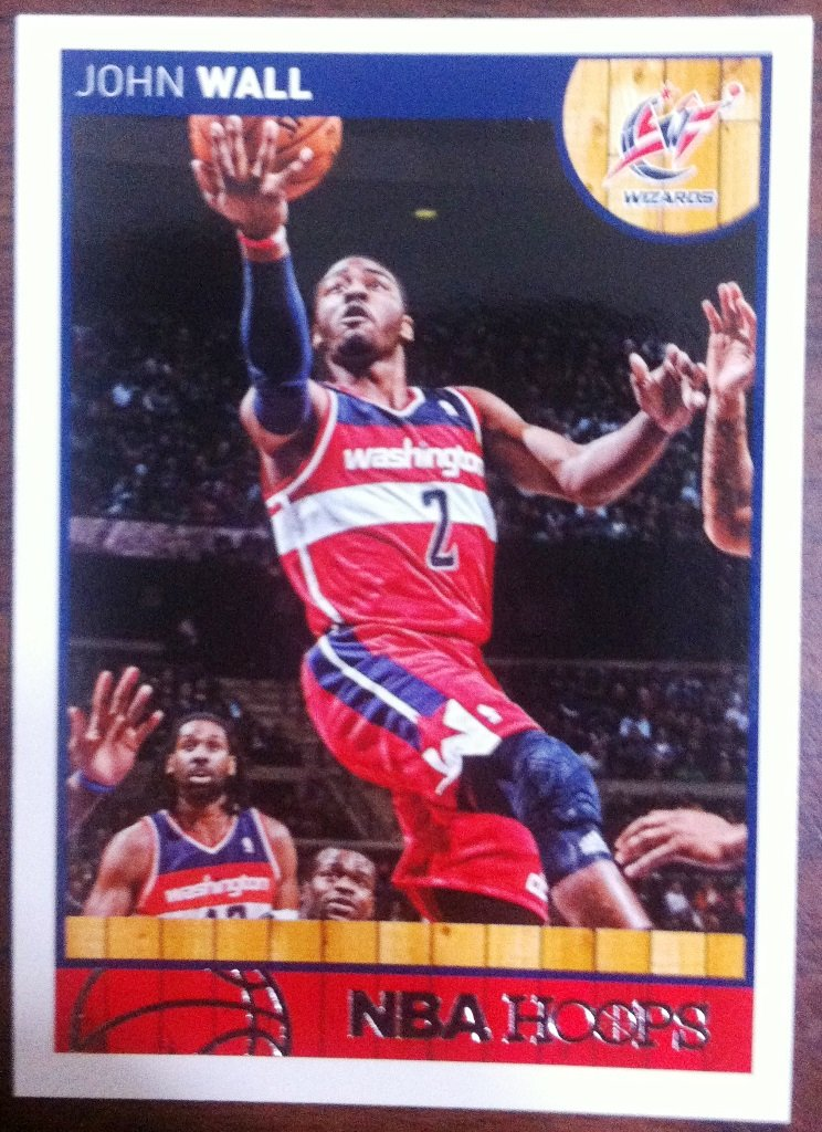 2013 Hoops Basketball Card #133 John Wall
