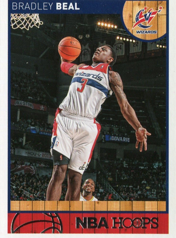 2013 Hoops Basketball Card #163 Bradley Beal