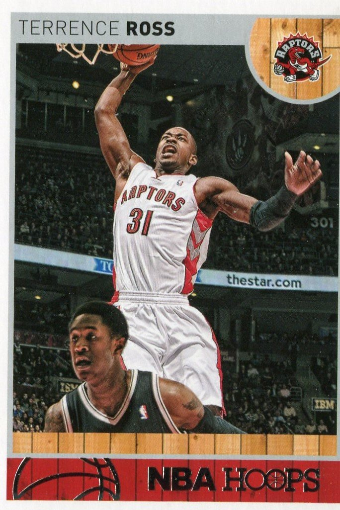 2013 Hoops Basketball Card #166 Terrence Ross